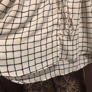 Motherhood Maternity Tops - MOTHERHOOD MATERNITY Sleeveless Button Blouse Top